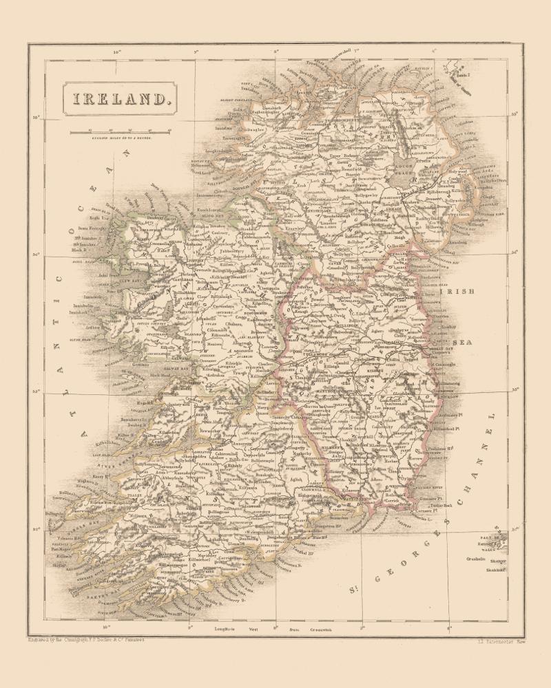 Maps Of Ireland KOBEICA BLOG - Buy vintage maps